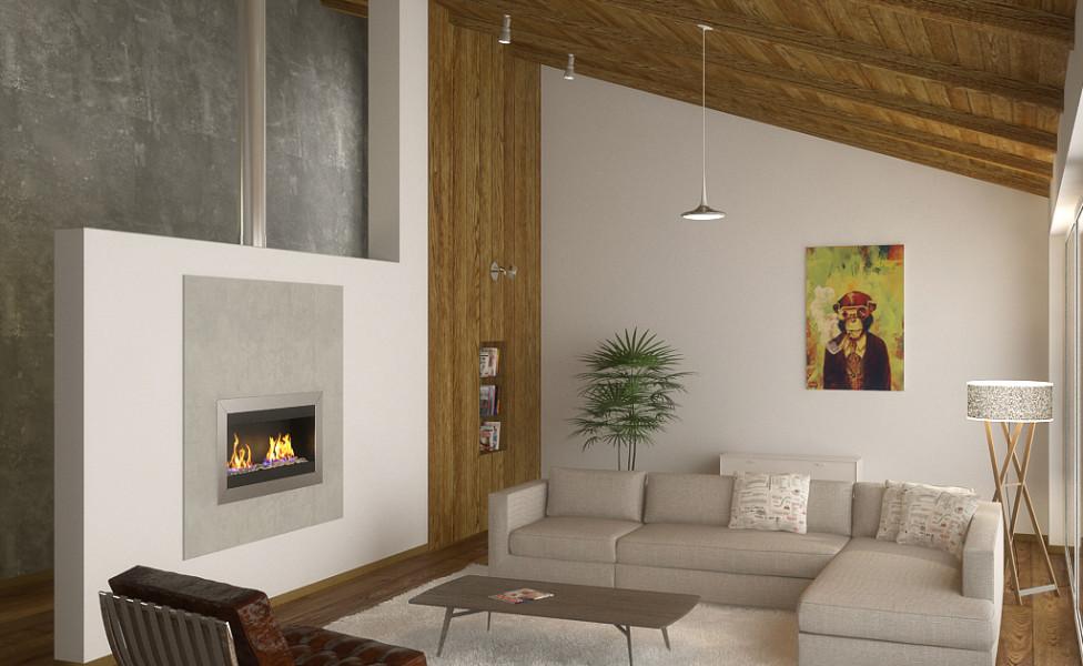 дизайн интерьера гостиной в Калининграде