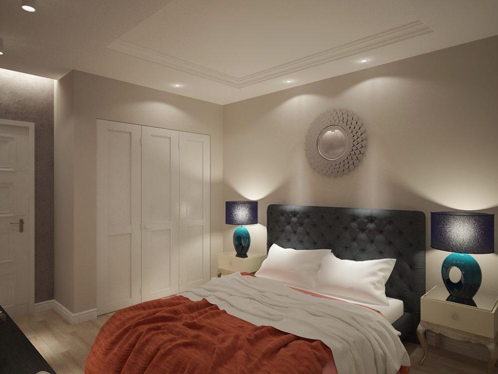 Дизайн спальни в Зеленоградске