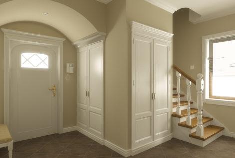 Дизайн холла в частном коттедже