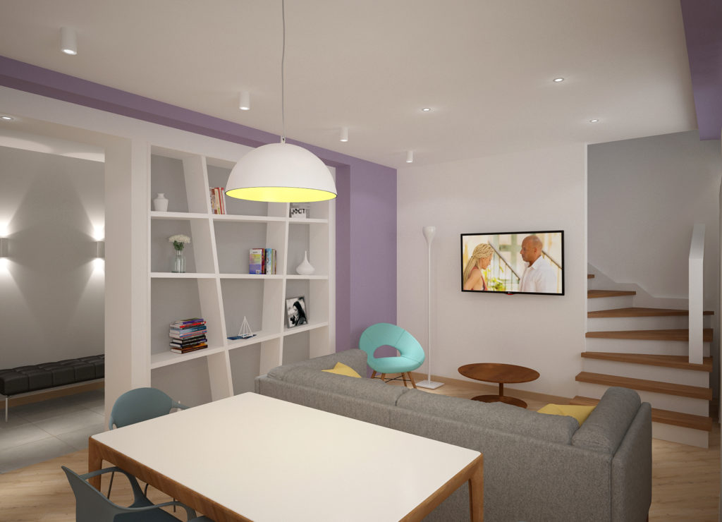 Современный дизайн квартиры в Зеленоградске
