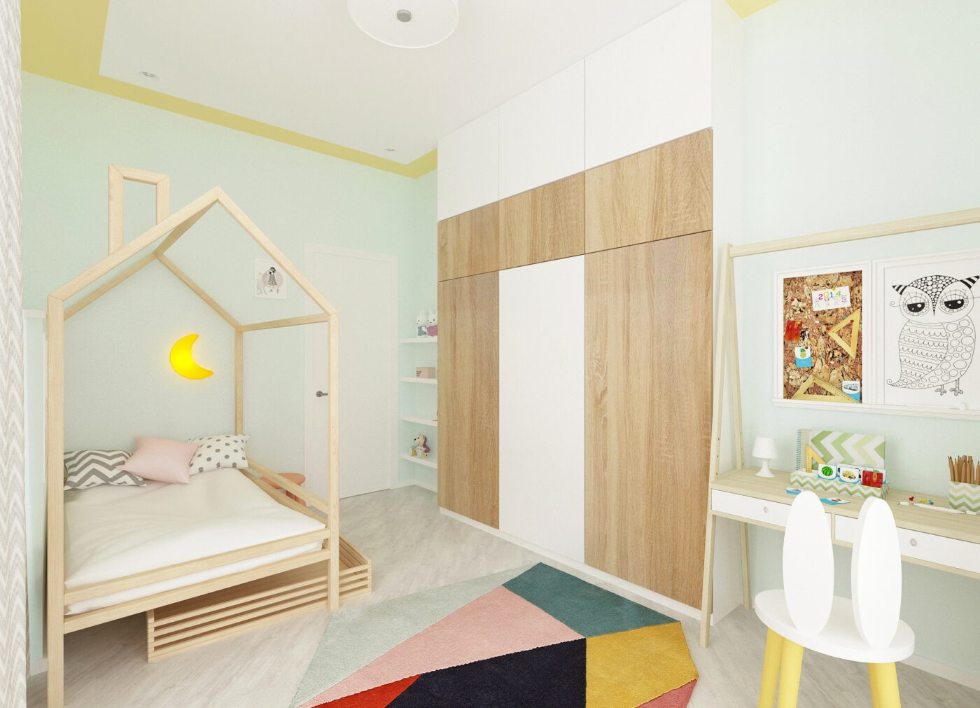 Дизайн детской в Зеленоградске
