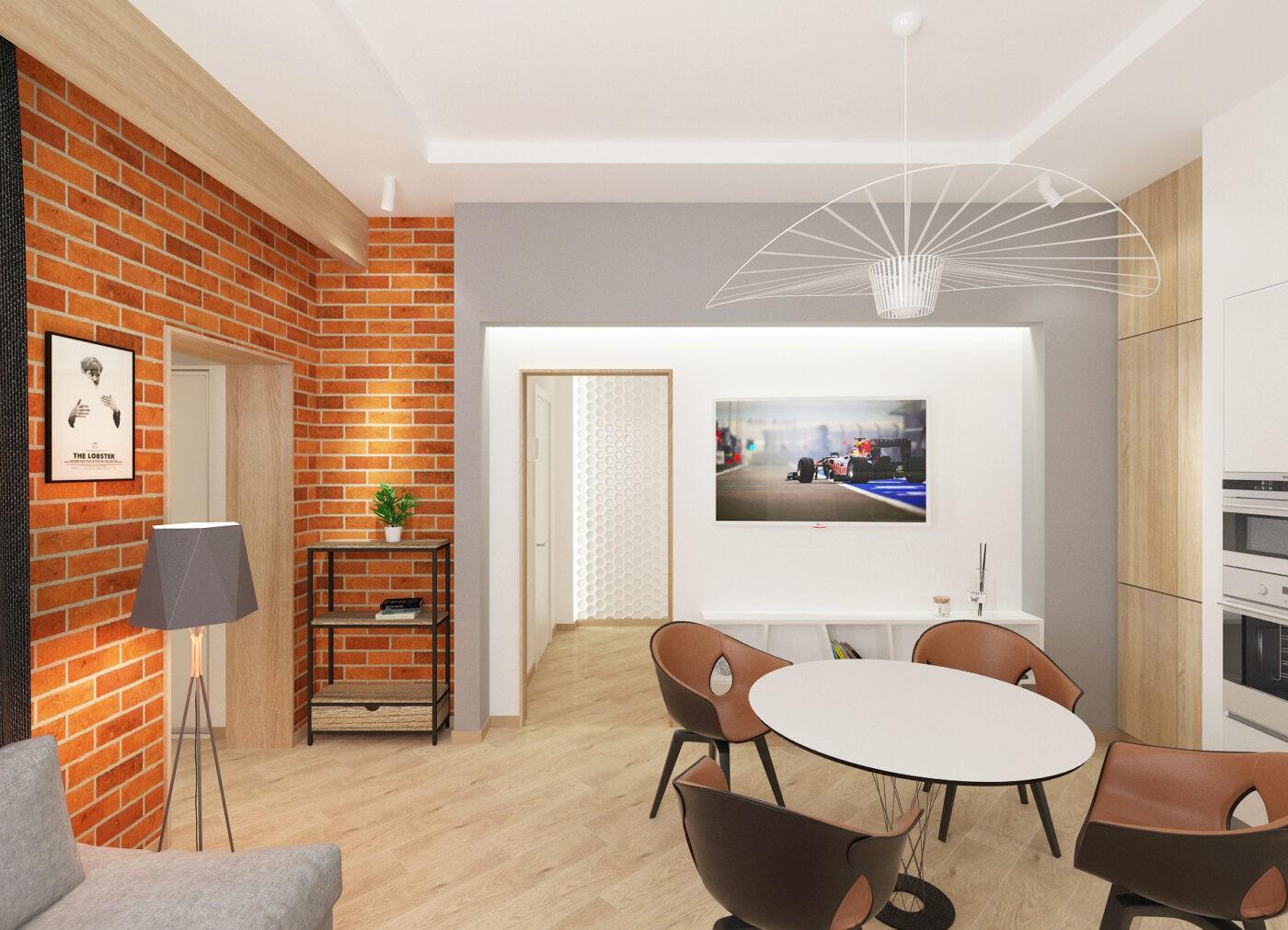Дизайн гостиной в Зеленоградске